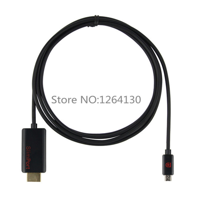 1.8M 6FT Slimport MyDP to HDMI Cable HDTV Video Adapter for Google 4 Nexus 7 II LG G2 ASUS Padfone
