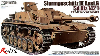 RealTS Tamiya #35197 Military Model 1/35 SturmgeschutIII Ausf.G Scale Hobby Model Kit
