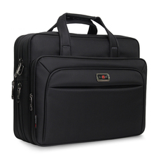 Mens Handbags Business Briefcase Large Capacity Men Single Shoulder Bag 14 15 16 Laptop For HP Dell Lenovo Asus MacBook