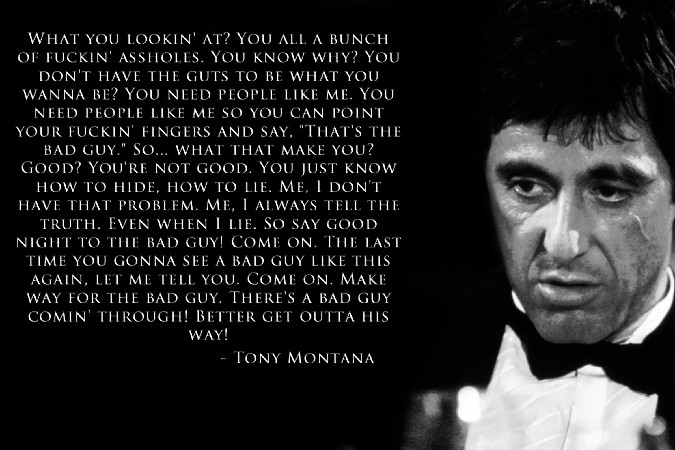 scarface wallpaper quotes pictures - photo #10