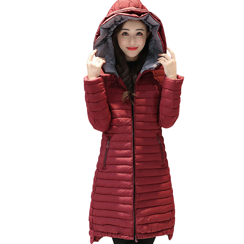 2017 women winter hooded coat female big size 4XL 5XL outerwear jacket ladies long cotton padded parka chaqueta feminino 2017 hooded women winter coat jacket female big size outerwear ladies jacket long cotton padded parka chaqueta feminino c3532