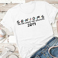 The One Where They Graduate Seniors 2019 Seniors Friends Class of 2019 Unisex Standard Cotton T-Shirt Senior Shirt Graduate