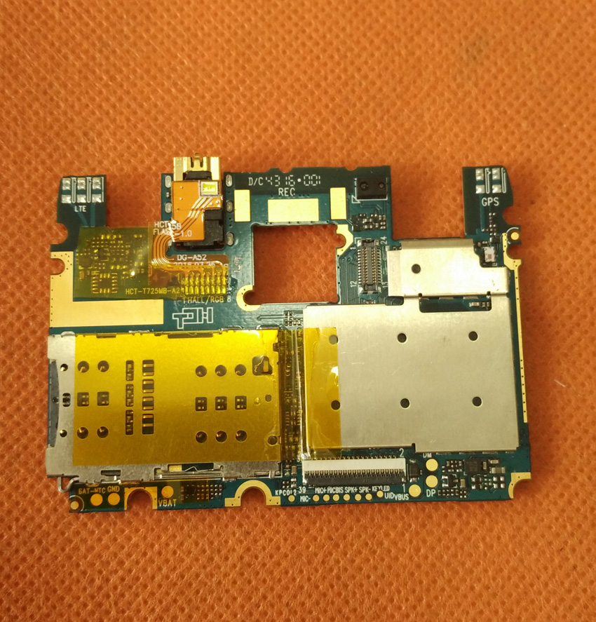 Used Original mainboard 2G RAM+16G ROM Motherboard for Doogee Y6 MTK6750 Octa Core 5.5 HD Free shipping