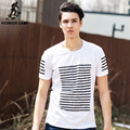 Pioneer camp tripas de algodón impreso camisetas hombre camisetas de manga corta camiseta de la marca de clothing cómodo y transpirable 620025