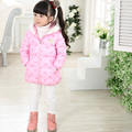 Girls Winter Jackets Cute Cartoon Printed Hooded Clothing Winter Girl Parka Kid Warm Jacket Coat Winter Suits for Girl Outerwear