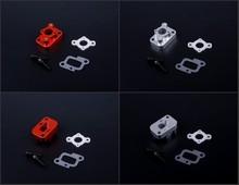 CNC Metal Intake parts kit Engine Parts accessories fit Zenoah rovan 32cc engine For 1 5