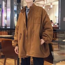 Inverno 2017 Wool Increase Cotton Long Windbreaker Thickening Overcoat Male Casaco Jaqueta Masculino Sobretudo Parka Jacket Men