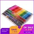 120/160 цветов деревянные цветные карандаши набор Lapis De Cor художника живопись масляный цветной карандаш для школы рисования принадлежности для...