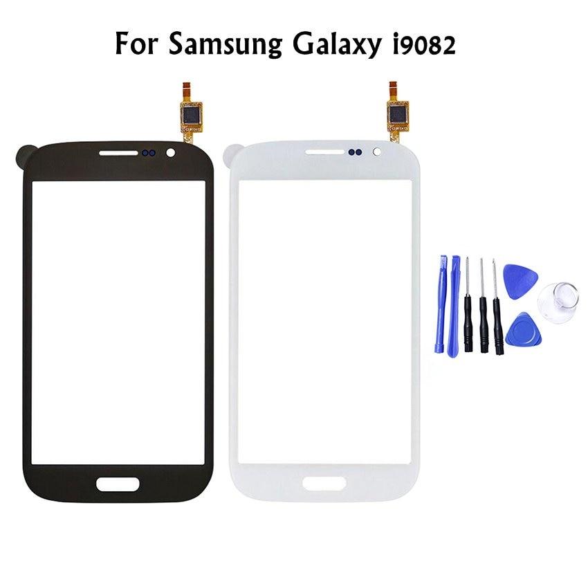 For Samsung Galaxy i9082 i9080 Neo i9060 i9062 i9063 Plus i9060i Touch Screen Digitizer Sensor Outer Glass Lens Panel