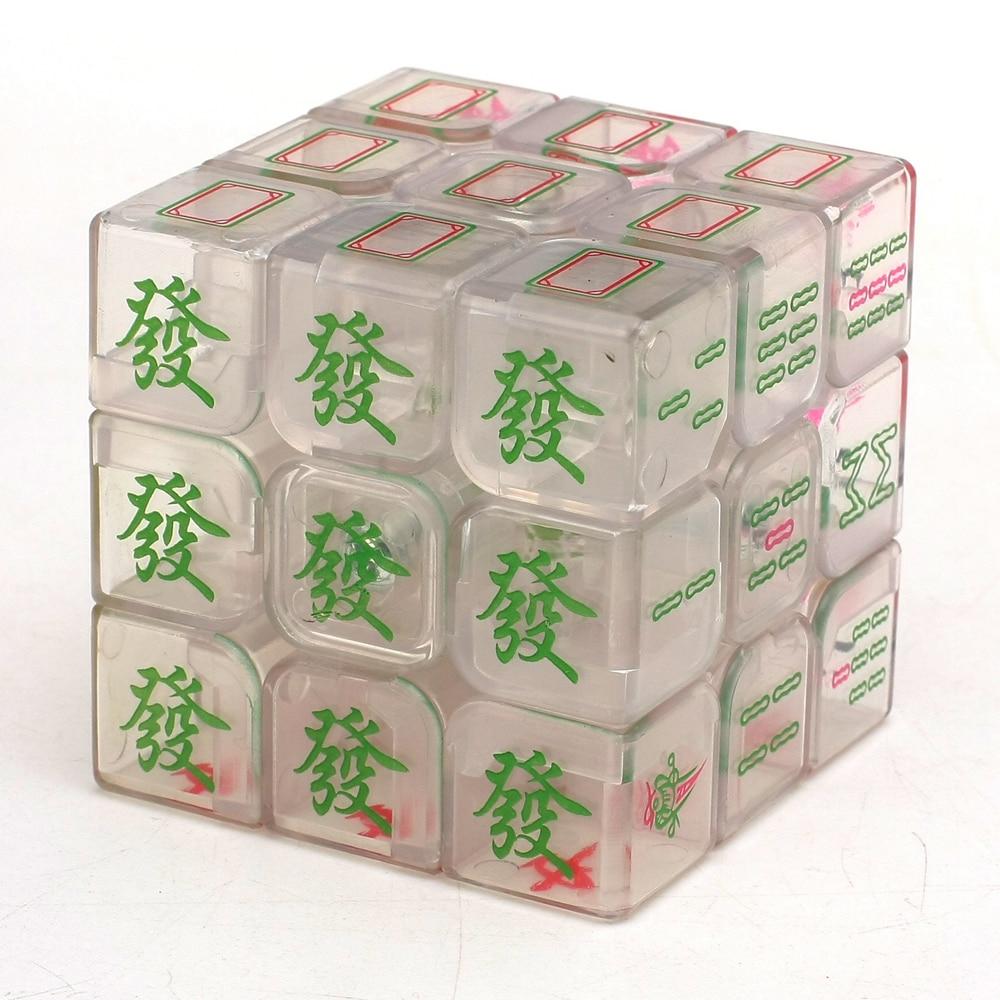 Zcube Aydınlık Mahjong 3x3x3 Sihirli Küp Hız Bulmaca Oyun - Oyunlar ve Bulmacalar - Fotoğraf 4