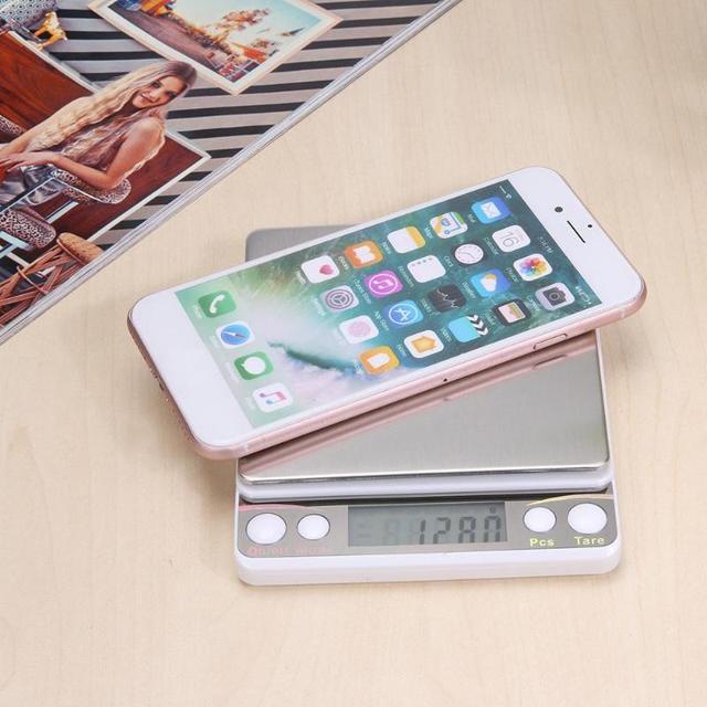 Mini balance de bijoux numérique LCD outil de pondération de cuisine de haute précision E5M1