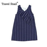 Travel Snail 3 9 Yrs Toddler Girls Dress For Kids Princess Costume For Girls Sleeveless Dress