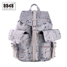 Fashion Female Backpacks 8848 Brand Backpack Collage Student High School Womens Bag Casual Travel 2017 Summer Hot 083-021-008