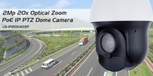 2MP 1080P IP PTZ PoE 20X Zoom 4 inch mini speed dome sony imx322 Outdoor 100m IR P2P Network Onvif Security cctv Camera(China)