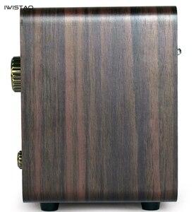 Image 5 - FM/AM Radio double bande Antique bois Vintage classique rétro maison bureau Radio Bluetooth haut parleur