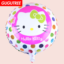 Decoration 18inch Cats Foil 10 Pieces Balloons Wedding Event Christmas Halloween Festival Birthday Party HY-221