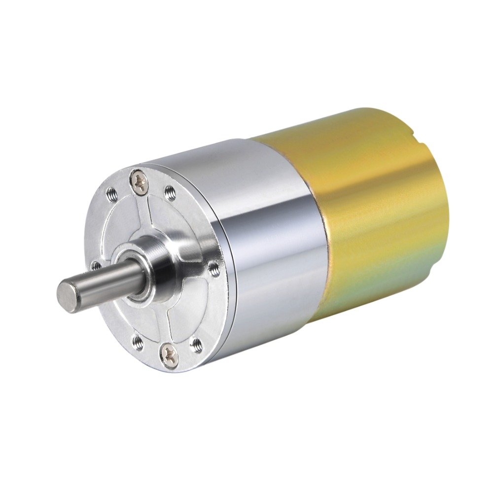 5RPM Output Speed 37mm x 29mm Gearbox DC 24V Gear Motor