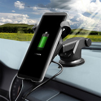 Airvent/על לוח רכב datawire תשלום מהיר 10 W אלחוטי צ 'י Stand מחזיק עבור iPhone 8 iPhone X/מכשירי הסלולר סמסונג אנדרואיד