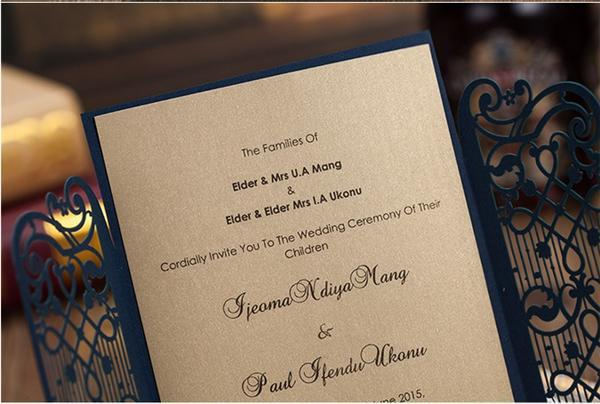 Hot Wedding Invitation Card Gate Fold Elegant laser cut wedding invitations luxury wedding supplier with Envelope card time picture more detailed picture about hot wedding,Luxury Invitation Cards
