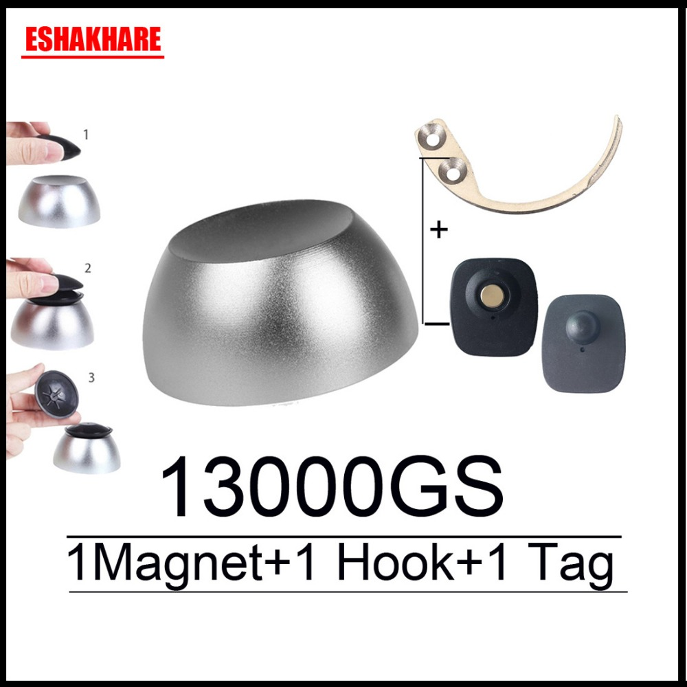 13000GS golf güvenlik etiketi detacher evrensel manyetik detacher anahtar RF8.2Mhz eas sistemi için detacher kanca detacher