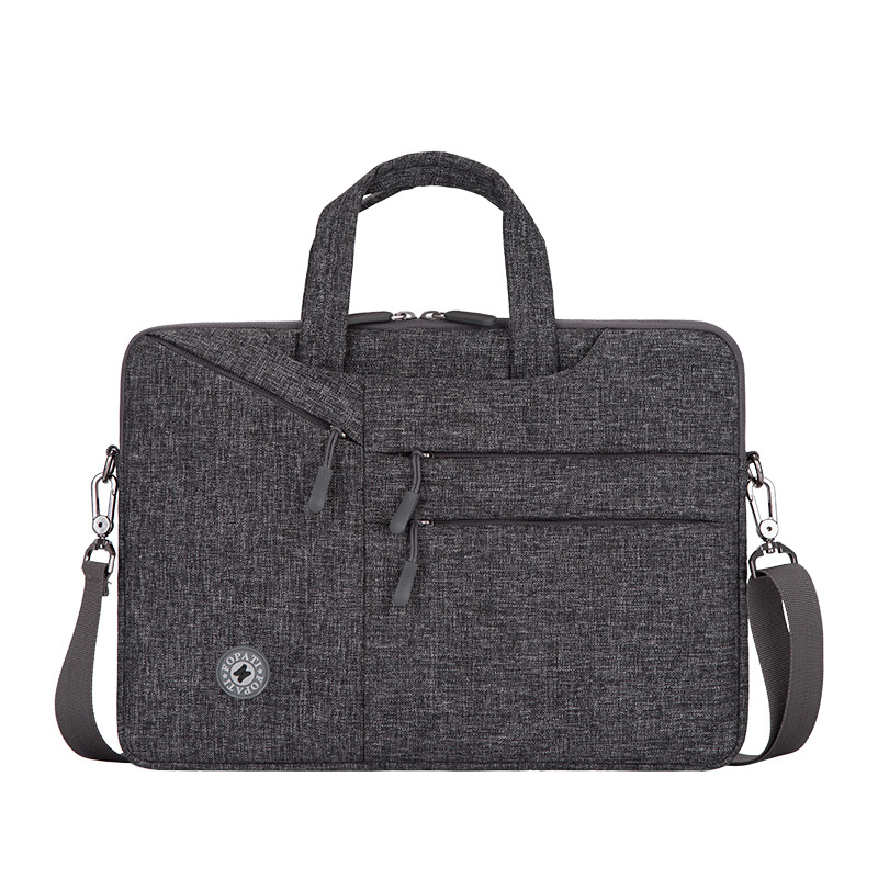 Men Office Briefcase Computer Bag Satchel Laptop Handbag Briefcases For Documents Messenger Shoulder Male Female Business Bags
