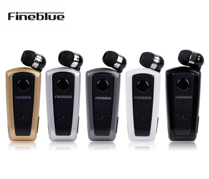 Fineblue F910 bluetooth earphone wireless Earbud calling Vibrating voice promptes for smart phone + clip drop shipping wireless restaurant calling system 5pcs of waiter wrist watch pager w 20pcs of table buzzer for service