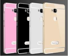 Huawei gt3 case cover pc задняя крышка алюминиевый металлический каркас набор fundas huawei gt3 huawei honor 7 lite телефон сумка случаях