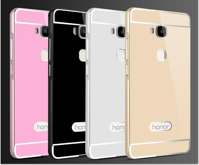 newest collection 5def4 3412e US $6.99 |Huawei GT3 Case Cover PC Back Cover Aluminum Metal Frame Set  fundas Huawei gt3 Huawei honor 7 lite Phone Bag Cases-in Fitted Cases from  ...