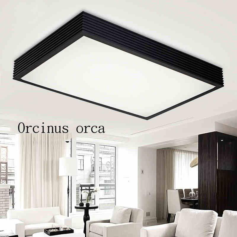 Rectangular living room lamp LED ceiling lamp corridor lamp simple modern square main bedroom light