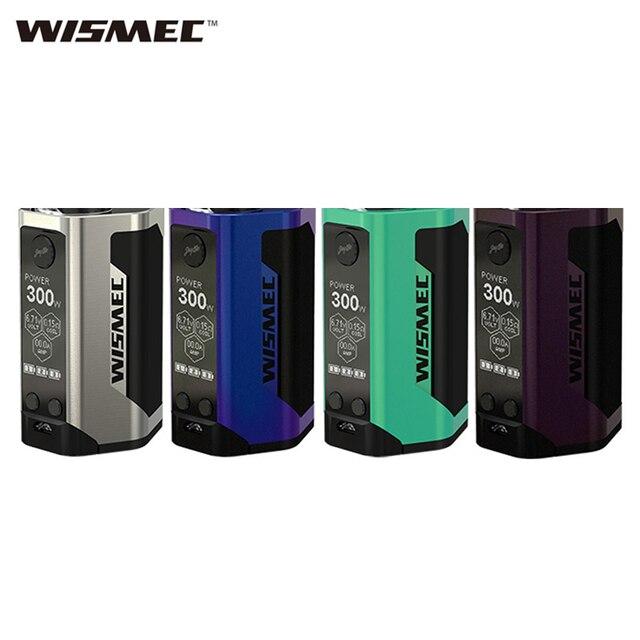 Оригинальный wismec reuleaux RX GEN3 TC поле mod огромный OLED Дисплей 300 Вт электронной сигареты коробка mod без 18650 батарея