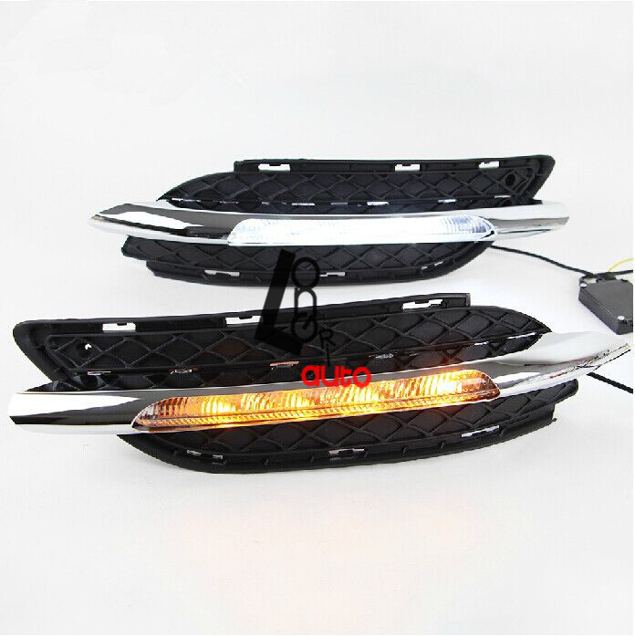 car styling 2pcs/set Modified special LED daytime running lights for W245/ B180 /B200 2011-2013