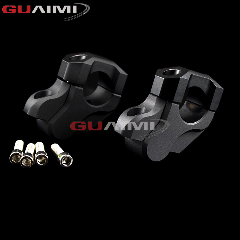 For BMW R1200GS LC 2013-2017 R1200 GS LC Adventure 2014-2017 Motorcycle Handlebar Riser Handle Bar Clamp Extend Adapter for bmw r1200gs motorcycle mirrors riser extension brackets adapter fit for bmw r1200gs lc r1200 gs lc adventure 2013 2016