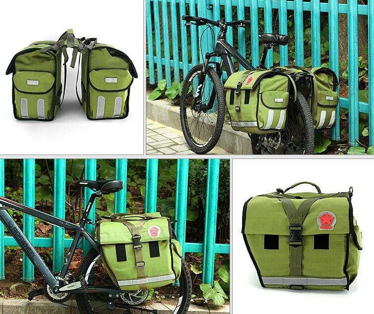 ROSWHEEL mountain bike bicycle bag Cycling bicycle accessories camel bag rear saddle bag L37*H32*W20cm roswheel mtb road bike bag touchscreen bicycle saddle bag for 5 5 7 phone cycling front frame tube bag bicycle accessories