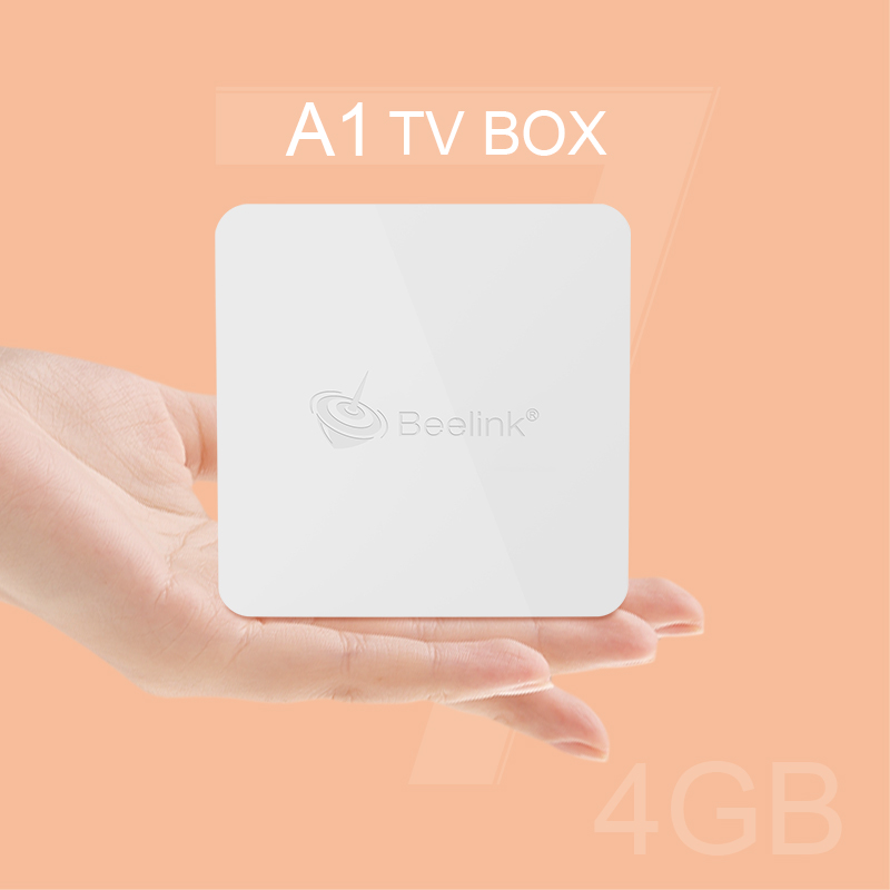 Beelink A1 Small TV BOX TV RK3328 Quad-core Android 7.1 4G Memory Support 2.4G+5.8G WiFi Remote Control Bluetooth 4.0 TV Box hdd плеер abox tv 4g android tv box hd