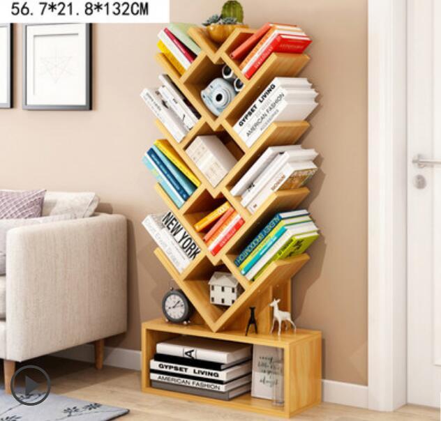 Modern Book Shelf Study Room Bookcase Book Storage Rack In