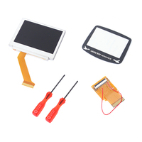 Kebidu LCD Screen For Nintendo Game Boy Advance SP For GBA SP Repair LCD Screen