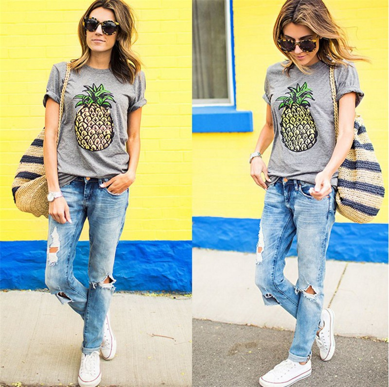 HTB1tjk8JpXXXXX2aXXXq6xXFXXXq - Oversized Casual Summer Designer Grey Round Neck Short Sleeve Printed Clothes T-Shirt PTC 345