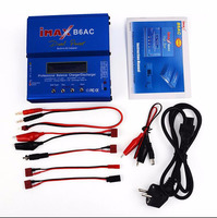 80W IMAX B6AC RC Balance Lipo Battery Charger B6 AC Nimh Nicd lithium Battery + EU/US/UK/AU plug power supply wire free shipping