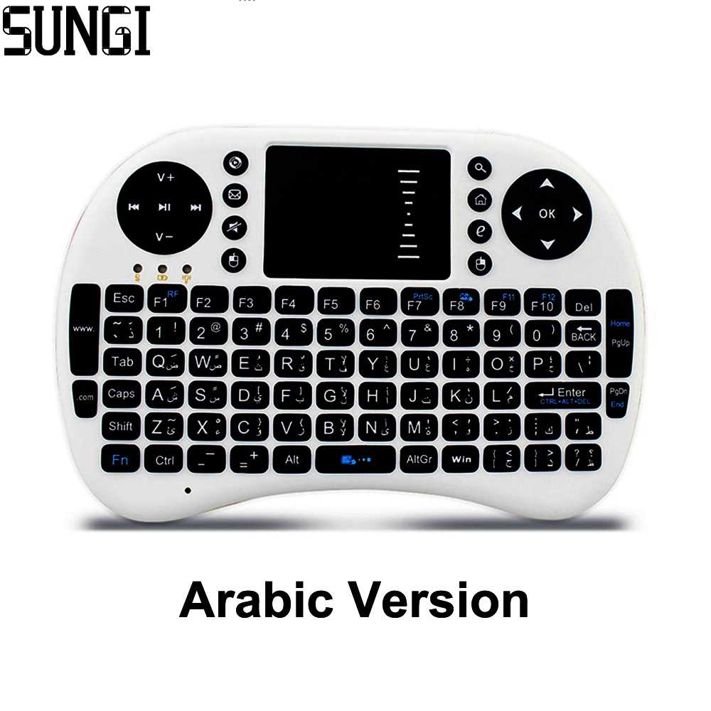 2,4G Wireless Arabisch brief Mini Tastatur Air Fly Maus Tastatur - Computer-Peripheriegeräte - Foto 1