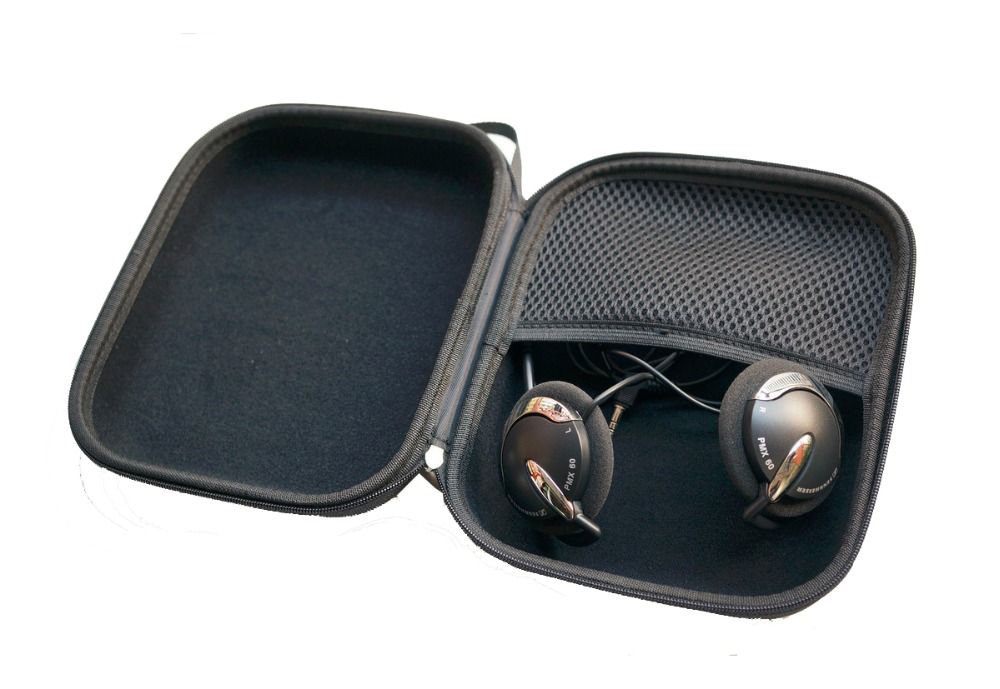 V-MOTA PXC headset Carry case box For MOTO HT820/DELL BH200/Sennheiser PC230/PC140/PC146/PMX60/PMX200/PMX685i/PMX686G headphone