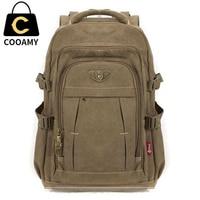 mochila, брезентовый рюкзак для ноутбука, на молнии, мужской, рюкзаки для переносного компьютера, сумки для путешествий mochila, военный стиль, мужс...
