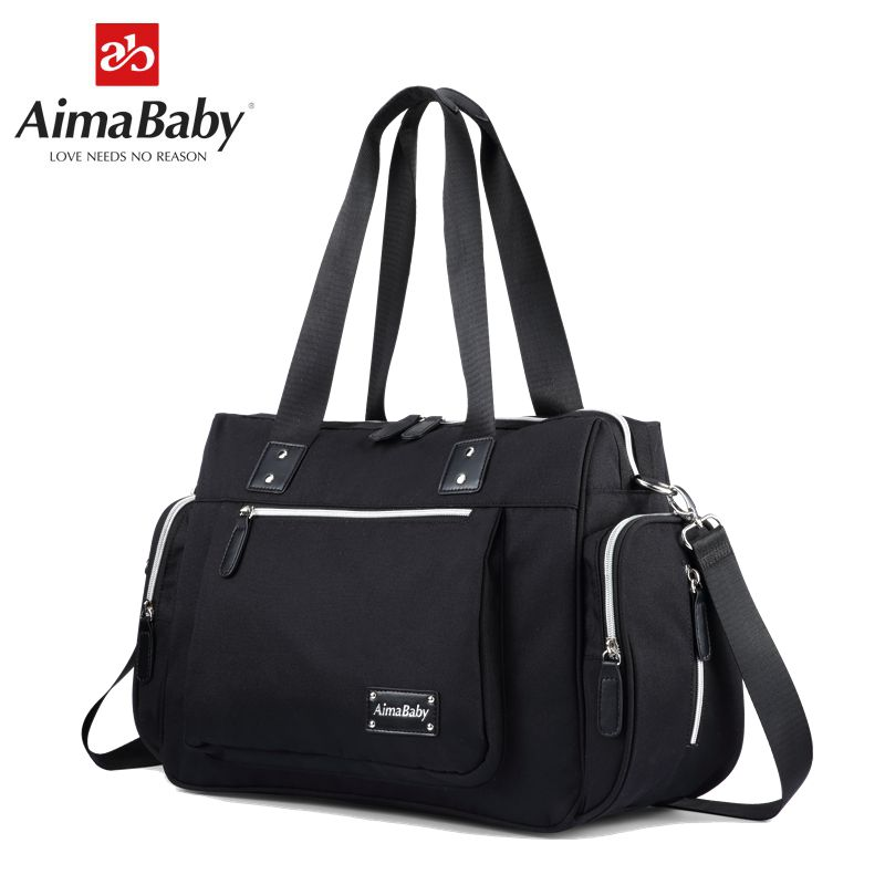 Aimababy mom travel baby stroller diapers changing mummy maternity diaper tote bag organizer wickeltasche messenger bags