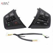 PUFEITE Für Hyundai ix25 (creta) 1,6 L 2,0 L Lenkrad Tempomat Tasten Remote Volumen taste schalter auto zubehör