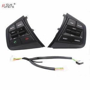 Image 1 - PUFEITE Für Hyundai ix25 (creta) 1,6 L 2,0 L Lenkrad Tempomat Tasten Remote Volumen taste schalter auto zubehör