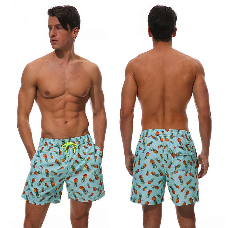 b7f1632906 ... Escatch Quick Dry Summer Mens Siwmwear Mens Beach Board Shorts Briefs  For Men Swim Trunks Swim ...