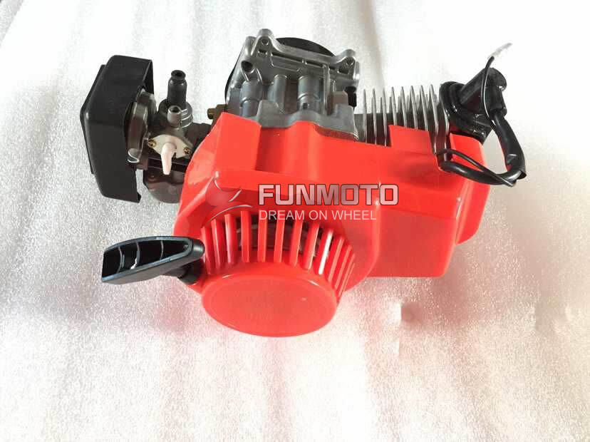 49cc Engine With Plastic Pull Stater Of Mini Dirt Bike For Kids