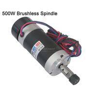 ER11 DC 48V 500W Brushless Spindle Motor CNC Engraving Machine Spindle