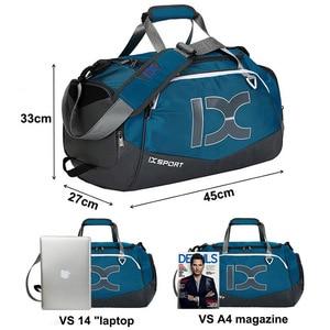 Image 3 - New Arrival 2019 Single Travel Bags Business Handbags Men Women Short Journey Waterproof Luggage Duffle Bag Shoulder Bag Handbag