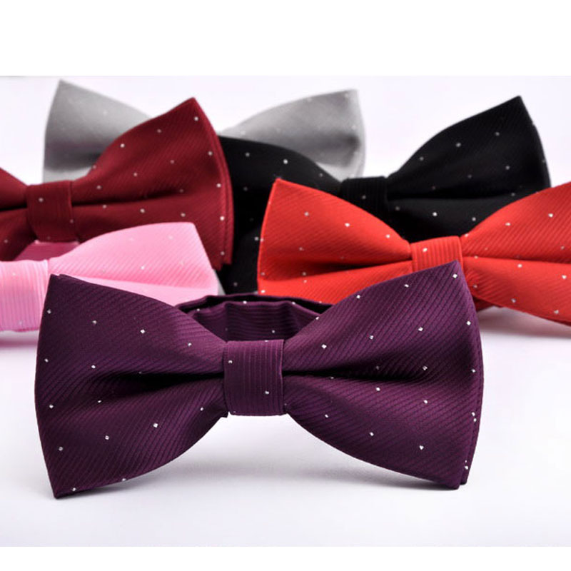 Hot NEW Mans Classic Bowtie for business Fashion Neckwear Adjustable Mens Bow Tie Polyester bow tie Free Shipping