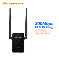 Comfast WIFI Router WIFI Repeater 802 11N B GNetwork Wifi Router Expander Dual 5dBi Wi Fi
